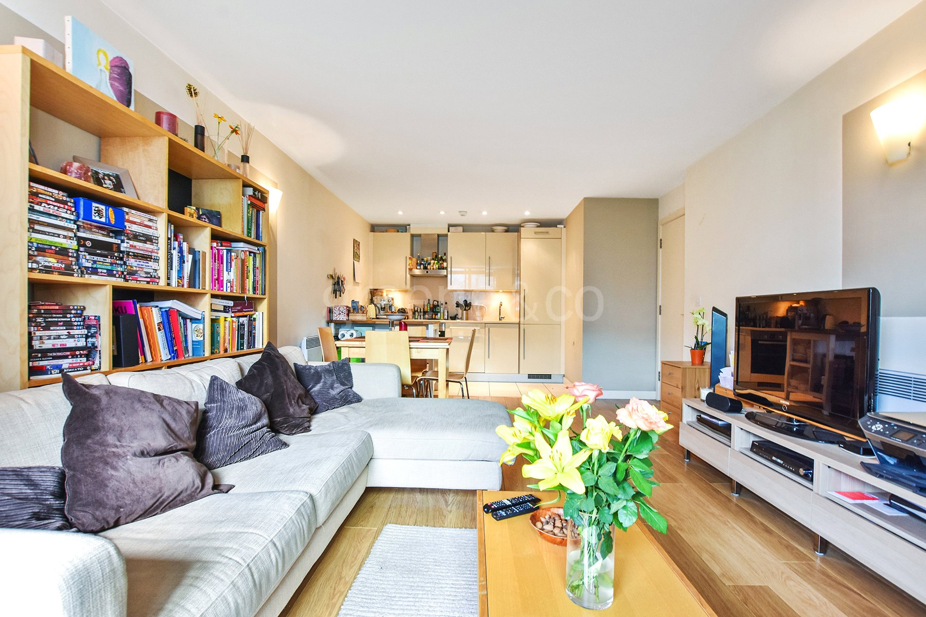 1 Bedroom Flat for sale in Emerson Apartments, New River Village, Crouch End, London, N8