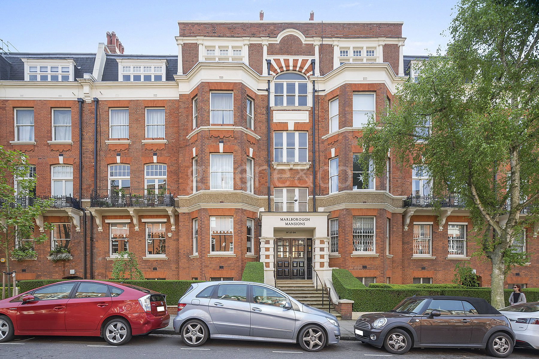 4 Bedrooms Flat for sale in Marlborough Mansions, West Hampstead, London, NW6