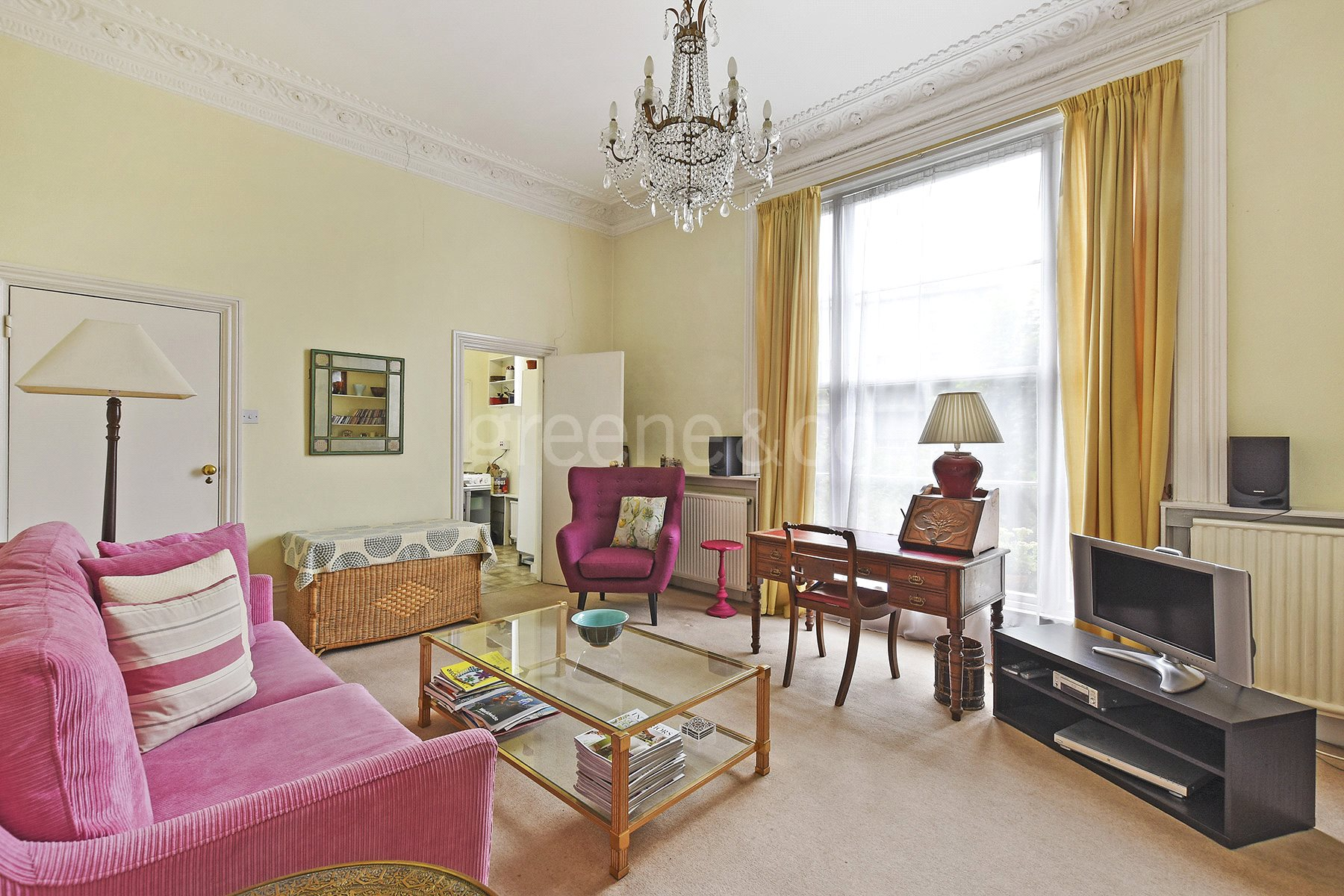 2 Bedrooms Flat for sale in Belsize Road, London, NW6