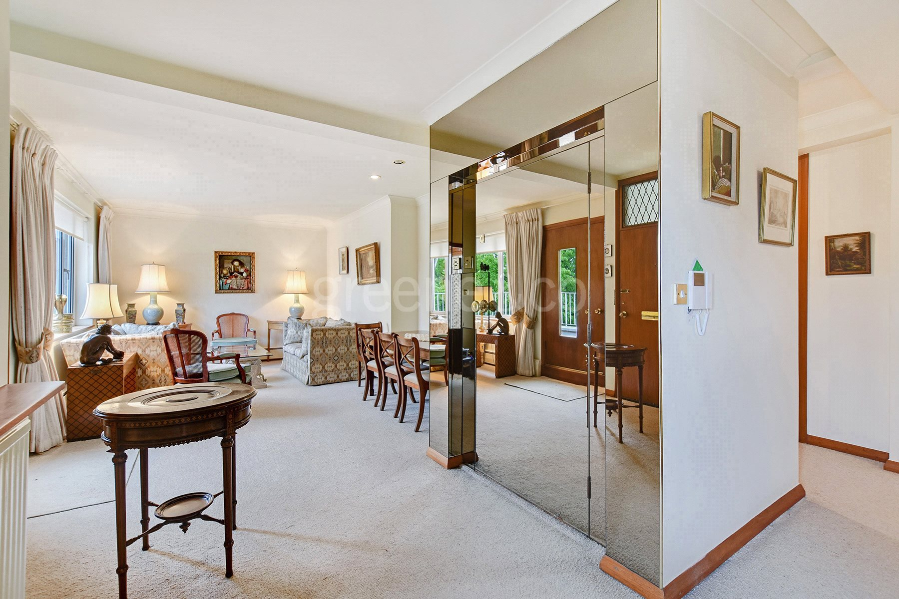 3 Bedrooms House for sale in Princess Court, 74 Compayne Gardens, London, NW6