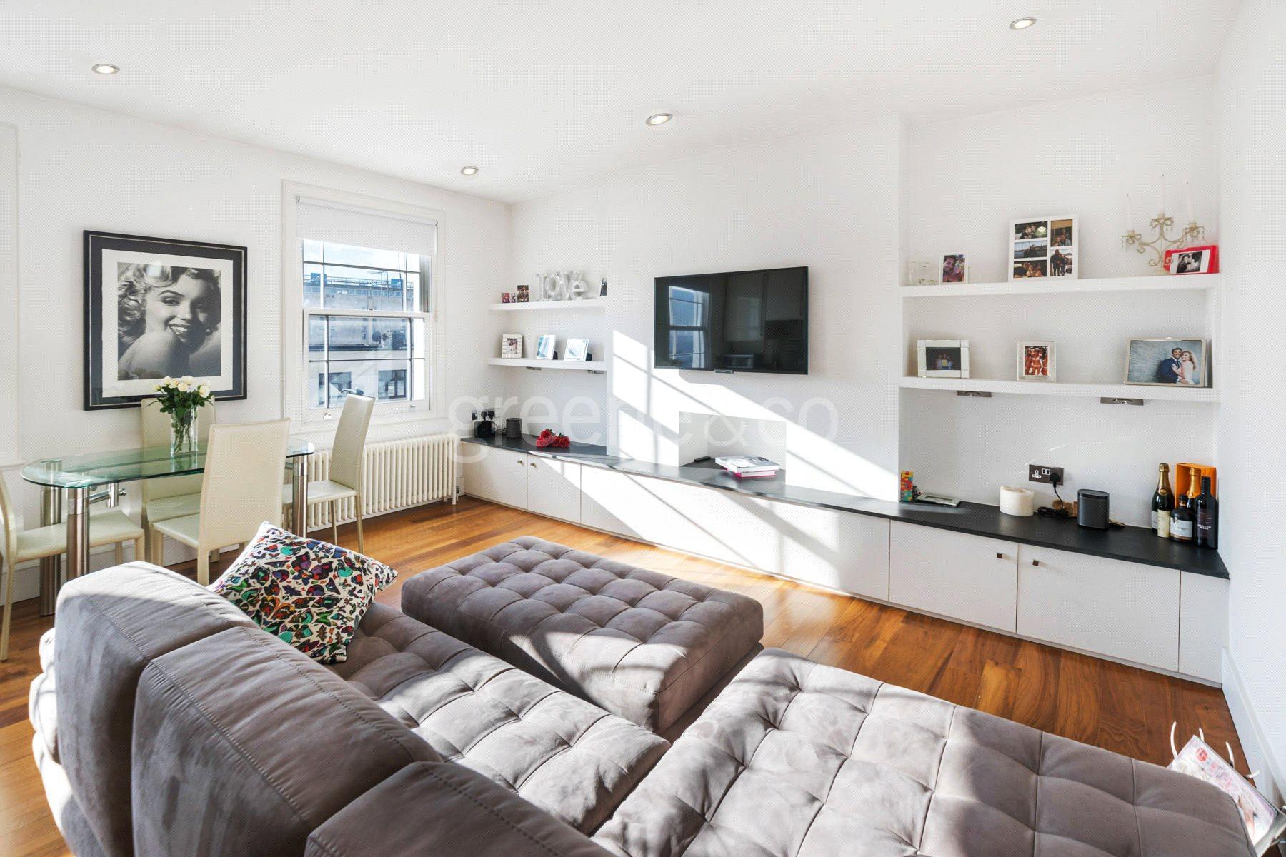 1 Bedroom Flat for sale in Belsize Road, London, NW6