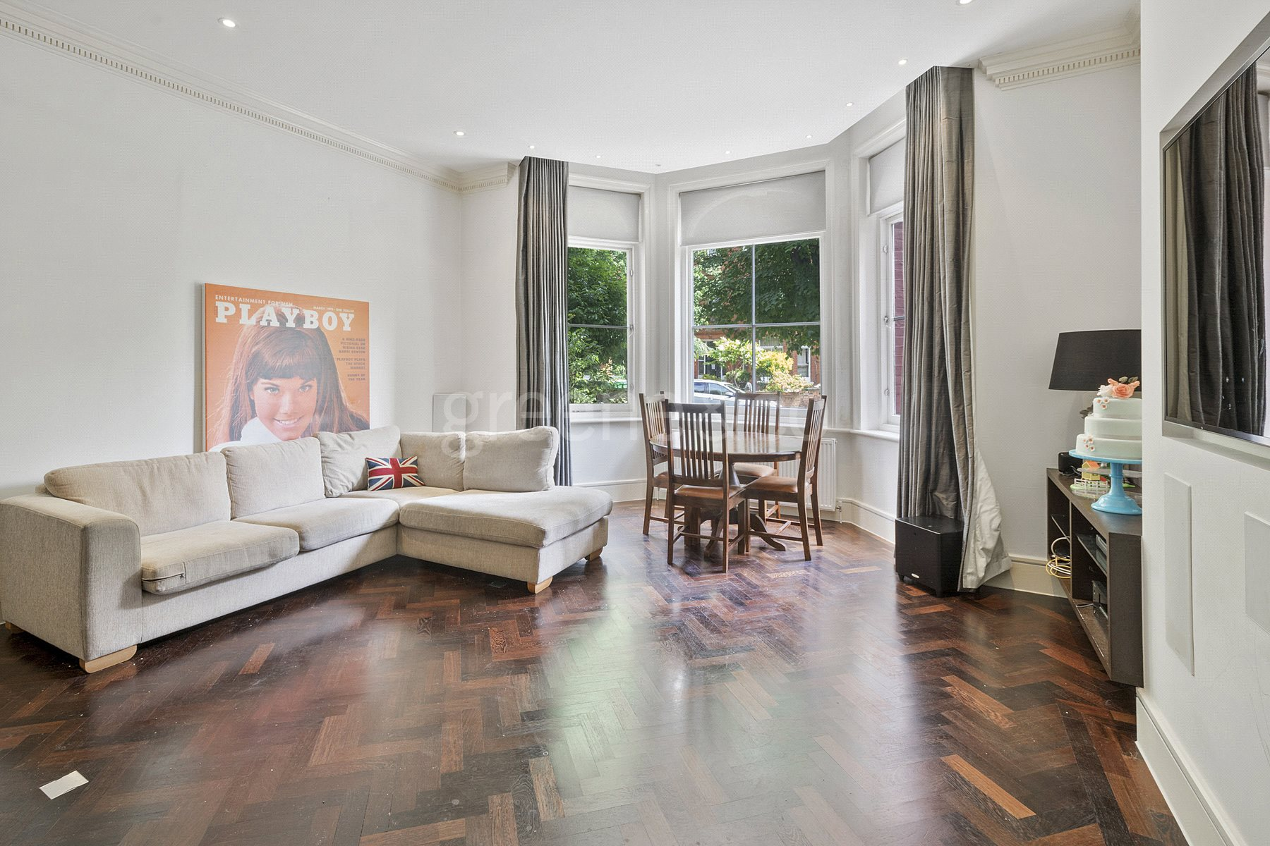 1 Bedroom Flat for sale in Compayne Gardens, South Hampstead, London, NW6