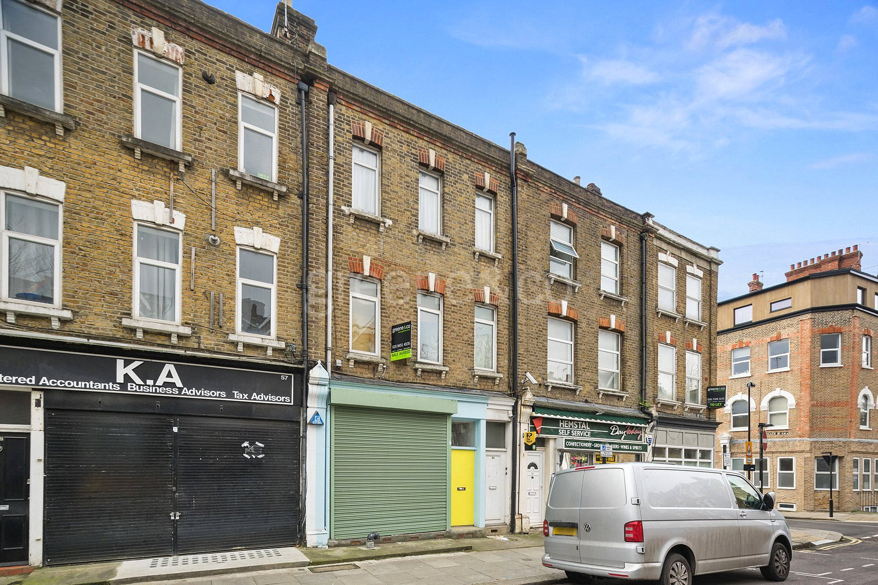 Flat for sale in Hemstal Road, West Hampstead, London, NW6