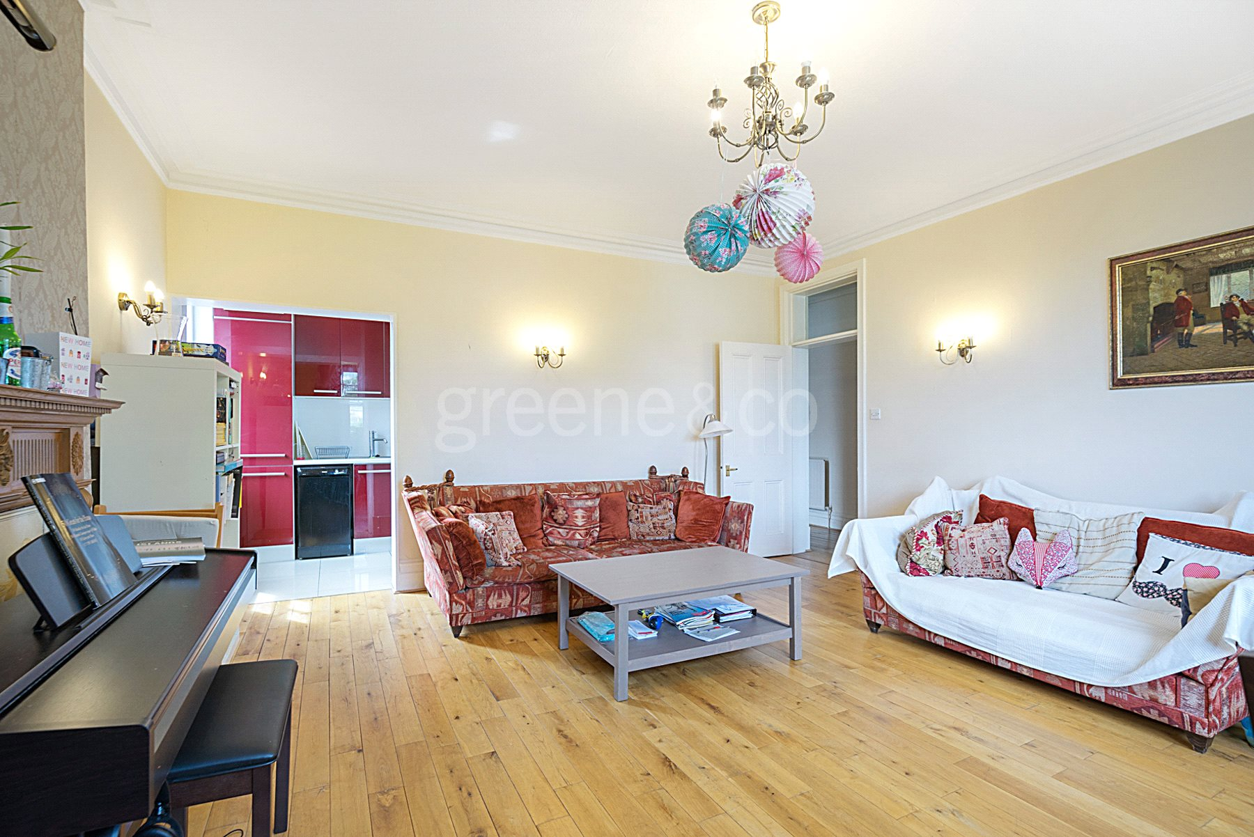 3 Bedrooms Flat for sale in Kings Gardens, West Hampstead, London, NW6