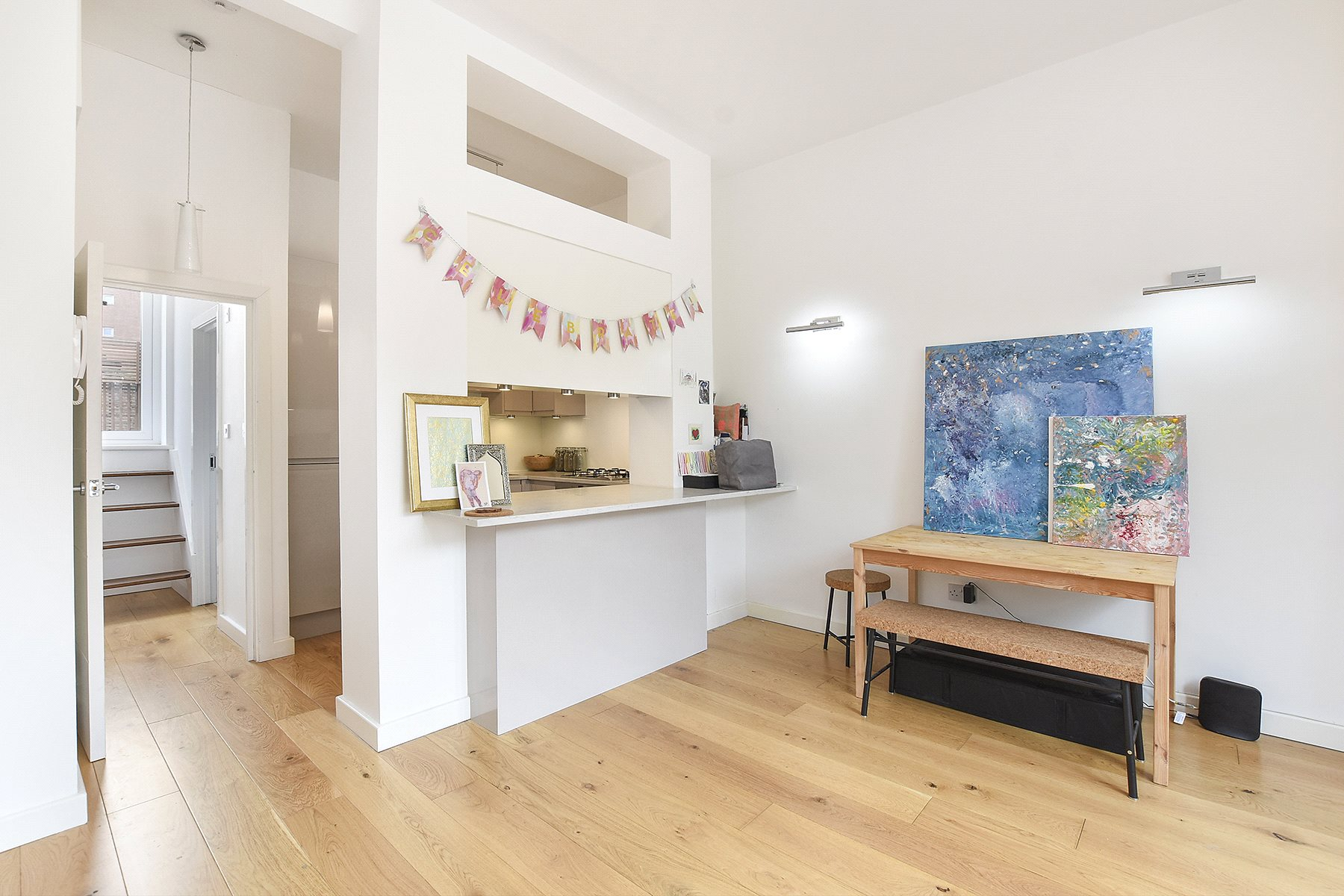 Flat for sale in Iverson Road, London, NW6